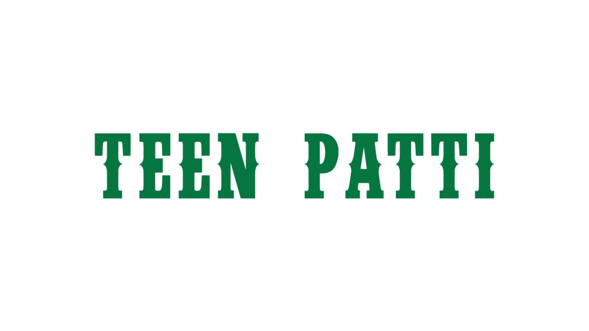 Indian Teen Patti