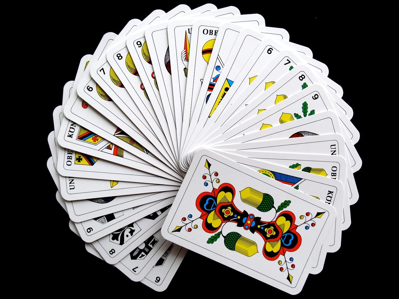 How To Set Rummy Cards