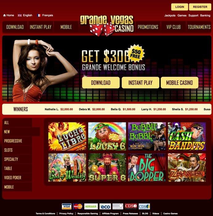 Grande Vegas Casino