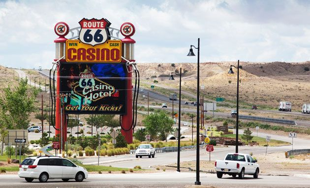 Westbound I-40 reopened near Route 66 Casino