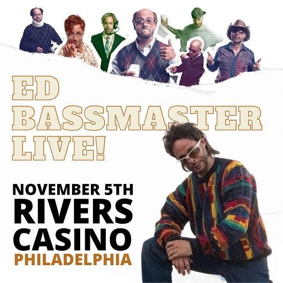 Prankster Ed Bassmaster Akan Tampil Di The Rivers Casino Philadelphia