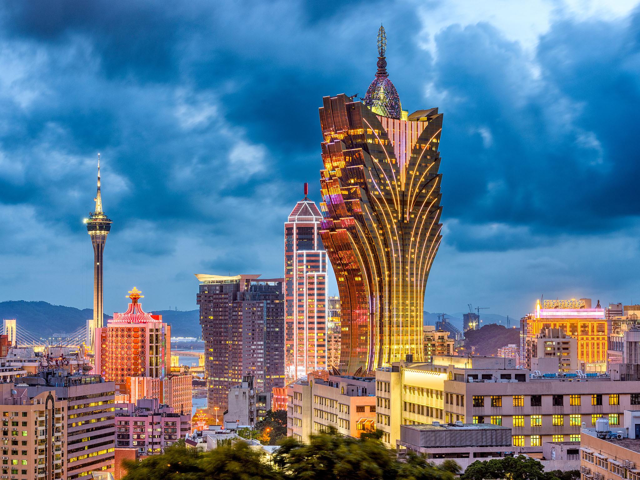 Pusat Permainan China Makau